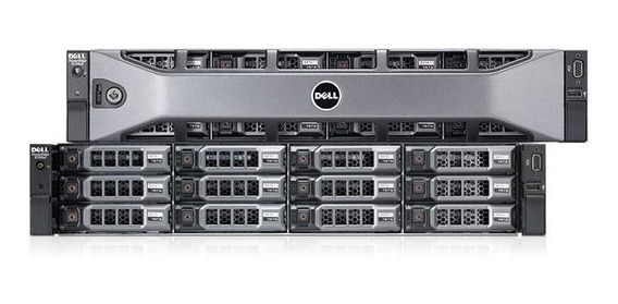Servidor Dell Poweredge R720 Xd - 2x Octa - 36tb Hd - 64gb