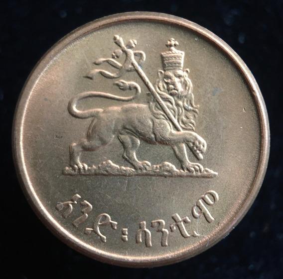 Etiopia Imperio, Cent, 1936. Haile Selassie. Sin Circular