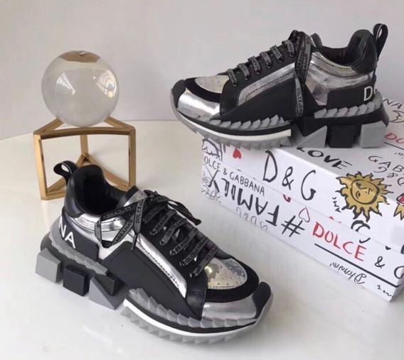 Tênis Dolce Gabbana Super King ( Varias Cores)