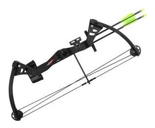 Arco Compuesto Inicial Mk 19-25 Besra + Flechas + Protector