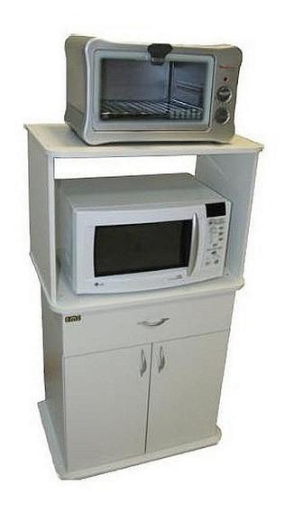 Mueble Organizador Microondas Y Horno Eléctrico Emc Santa Fe