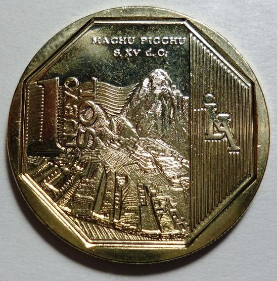 Peru Moneda Orgullo De Peru Machu Pichu 1 Nuevo Sol 2011