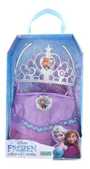 Corona Y Cartera Frozen Ditoys Violeta 2254 (1424)