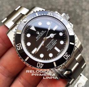 Relógio Rolex Submariner Sem Data Preto