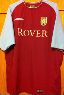 Camisa Aston Villa 2003/04 Vassel #10 Diadora Rara