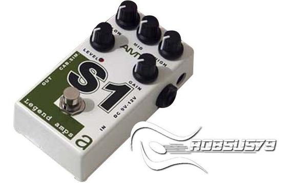 Pedal Amt S1 (soldano) Legend Amps Jfet Guitar Preamp