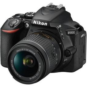Câmera Nikon D5600 Com Lente Af-p Dx 18-55mm Vr