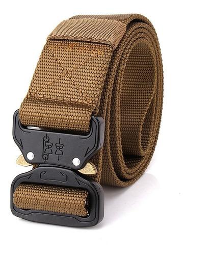 Imagen 1 de 10 de Pesado Deber Cinturón De Nylon Ajustable Hebilla De Metal