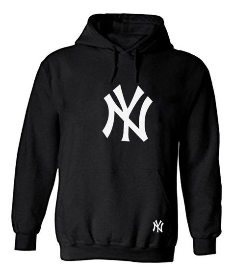 Sudadera Con Gorro Ny Yankees New York Con Gorro Unisex