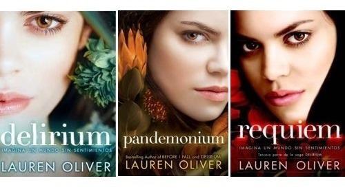 Imagen 1 de 4 de Trilogía Delirium (3 Libros) - Lauren Oliver