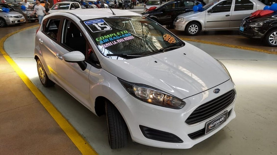 Fiesta 1.5 S Hatch 2015 1°dono Completo, Impecável