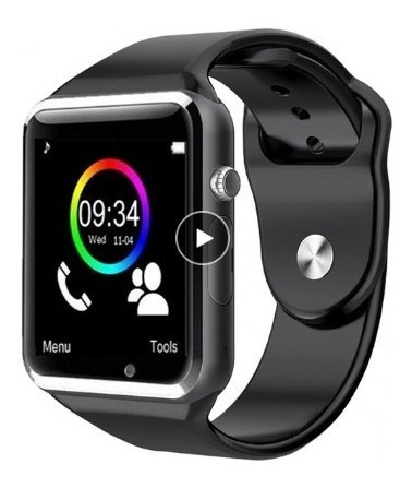 Relógio Bluetooth Smart Watch A1 Slot Para Chip E Cartao