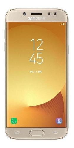 Celular Smartphone Samsung Galaxy J5 Pro J530g 32gb Dourado - Dual Chip
