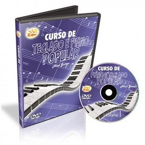 Curso De Teclado E Piano Vol 1