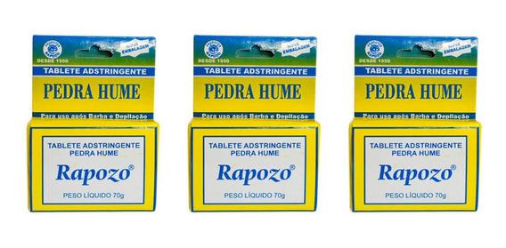 Rapozo Pedra Hume Tablete (kit C/03)
