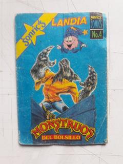 Monstruos Del Bolsillo Comic 4 Sonrics