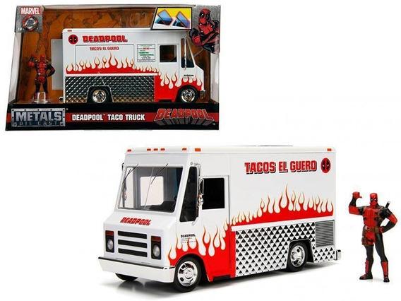 Marvel Deadpool Taco Truck Chimichanga 1:24 Jada Metals
