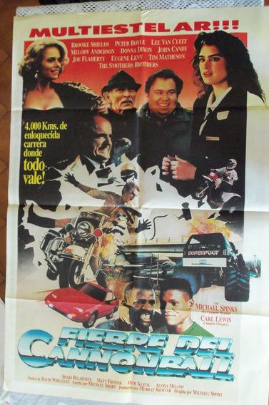 Poster Fiebre De Cannonball Frank Sinatra Burt Reinold