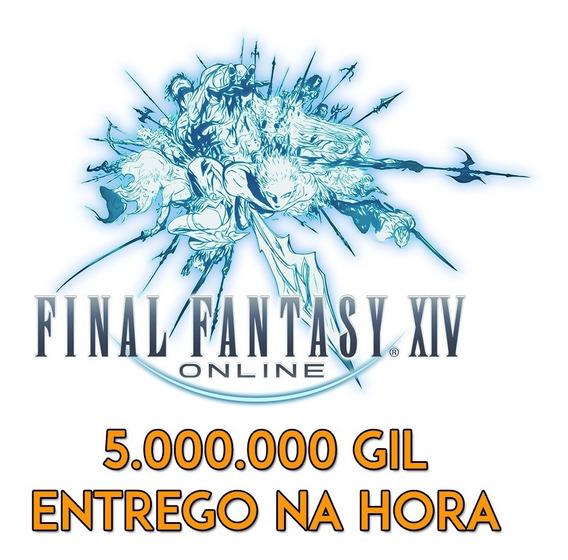 Final Fantasy Xiv - 5m / 5kk Gil - Disponível Em Todos Os Servidores - Entrega Imediata