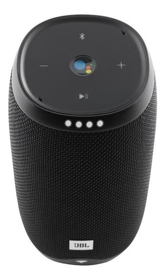 Caixa De Som Bluetooth Jbl Link10blkeums 2x8w Ativad Por Voz
