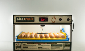 Chocadeira Automática 63 Ovos + Ovoscopio