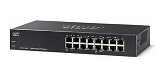 Switch Cisco 16 Puertos Giga Poe Rack Sg110-16hp-na