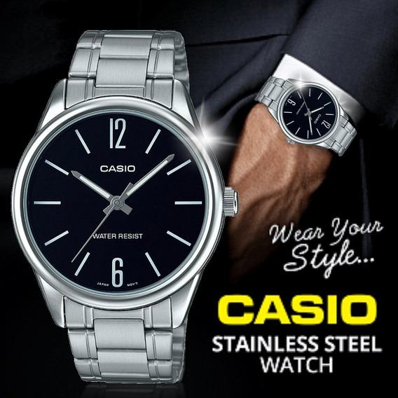 Relógio Casio Masculino - Mtp-v005d, Novo Original Oferta Im