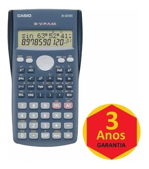 Calculadora Cientifica De Bolso Casio Fx-82ms 240f Original