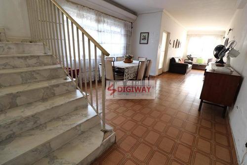 Sobrado Com 3 Dormitórios À Venda, 154 M² Por R$ 679.999,98 - Vila Monumento - São Paulo/sp - So0433