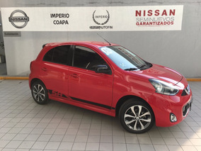 Nissan March 1.6 Sr Navi Mt 2015 Somos Agencia!!