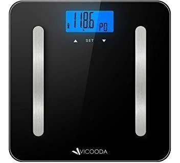 Body Scale, Vicooda Bathroom Scale With Large Backlit Displa