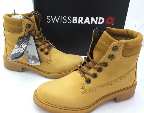 Swissbrand 560 Nobuck Miel