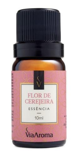 Imagem 1 de 3 de Essência Flor De Cerejeira Para Aromatizador 10ml Via Aroma
