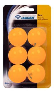 Pelotitas Ping Pong Donic Schildkrot Naranja X 6 Unidades.