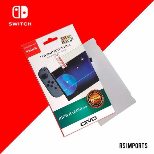 Pelicula De Vidro Temperado 9h Para Tela - Nintendo Switch