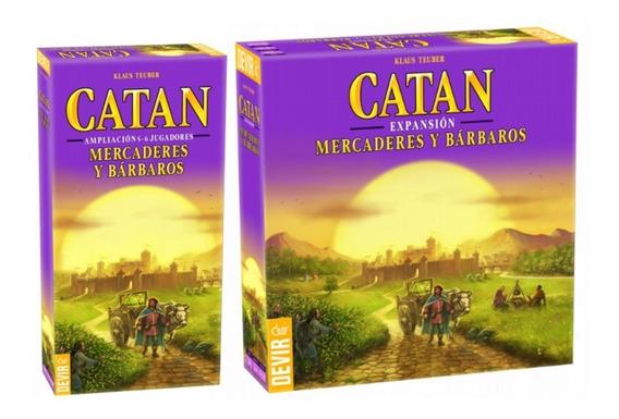 Juegos De Mesa Catan Mercaderes Y Barbaros 5 Y 6 Jugadores