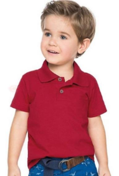 10 Camisa Camiseta Polo Infantil Blusas Kids Crianças Menino