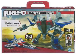Hasbro Kre O Transformers Starscream Compreonline!