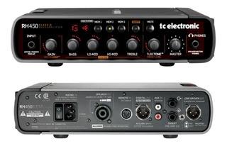Tc Electronic Rh450 Cabezal Para Bajo 450 W Simulador Valvul