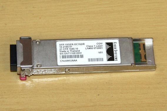 Gbic Cisco Original Xfp-10g-er 10-2189-01 10g 40km Usada