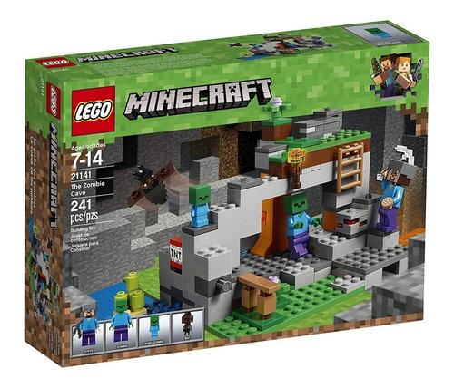 Lego Minecraft 21141 La Cueva Zombie 241 Pzs