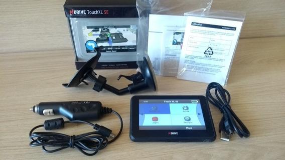 Gps Ndrive Touchxl Se Preto C/ Tela 4,3 Touchscreen