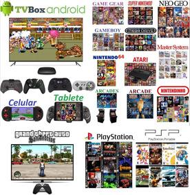 Jogos Para Tv Box E Celular. 53 Gb De Jogos. Envio Imediato