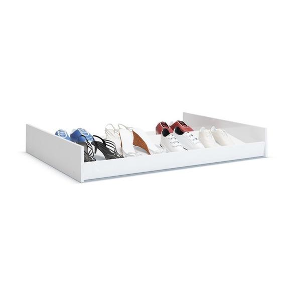 Sapateira Cama Kit 4 Peças Branco Organizador