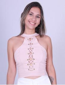 Cropped Lilas Chique 30230 - Asya Fashion