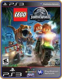 Jogo Lego Jurassic World Ps3 Digital Psn Dublado Português