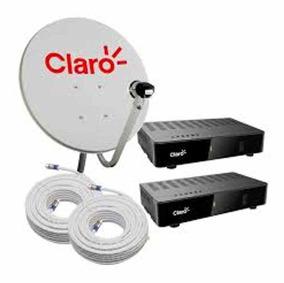 Kit Claro Tv Pré Pago 2 Anos Antena E Receptor +ponto Gratís