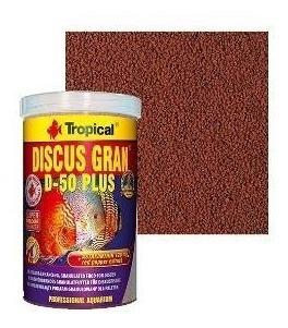 Ração Tropical Discus Gran D-50 Plus 220g Ideal Acara Discos