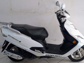 Suzuki An Burgman 125i 2015 Branca