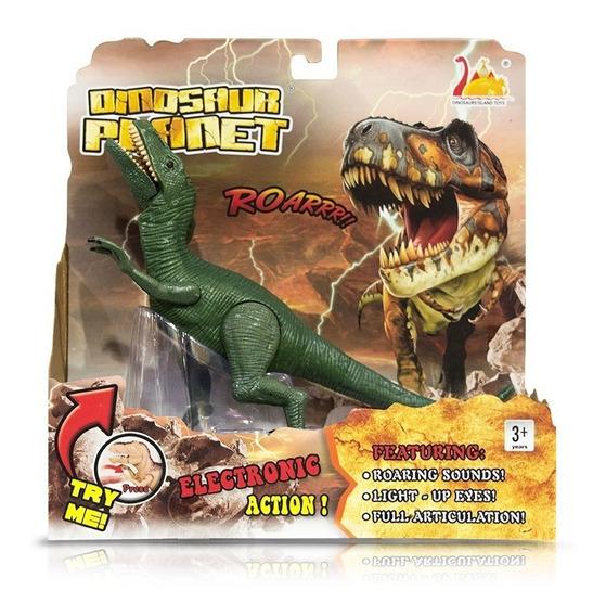 Dinosaur Planet Mini Dinosaurio Electronico Luz Y Sonido Ck